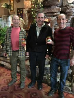 Image of Jim And John Thomas of El Pinto Foods with Willis Fedio