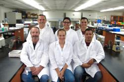 Image of NMSU food safety lab staff